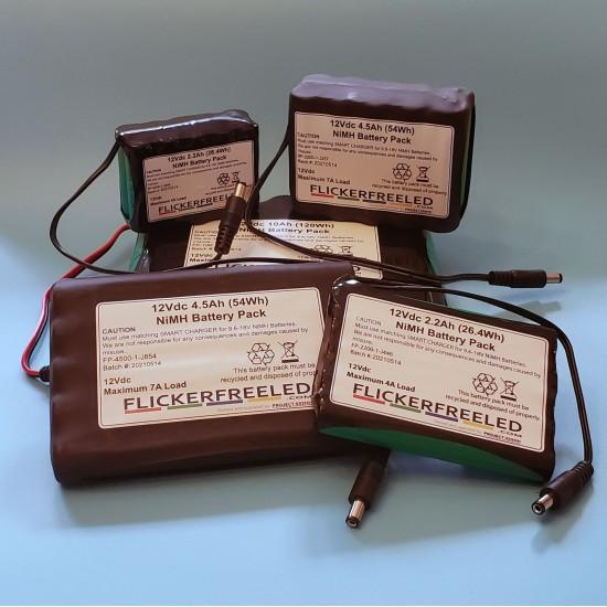12Vdc NiMH Battery Packs