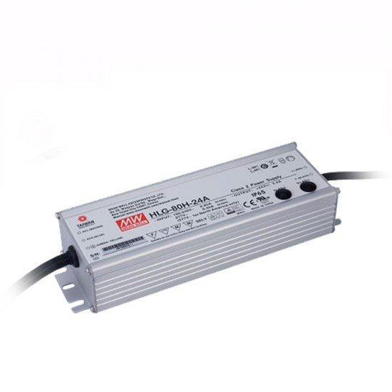 Mean Well 24vDC 3.4a Class 2 power supply