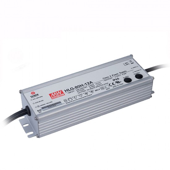 Mean Well 12vDC 5a Class 2 power supply