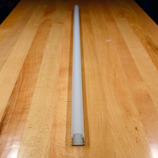PS-EXT-RO-001 Rounded Aluminum LED Extrusion